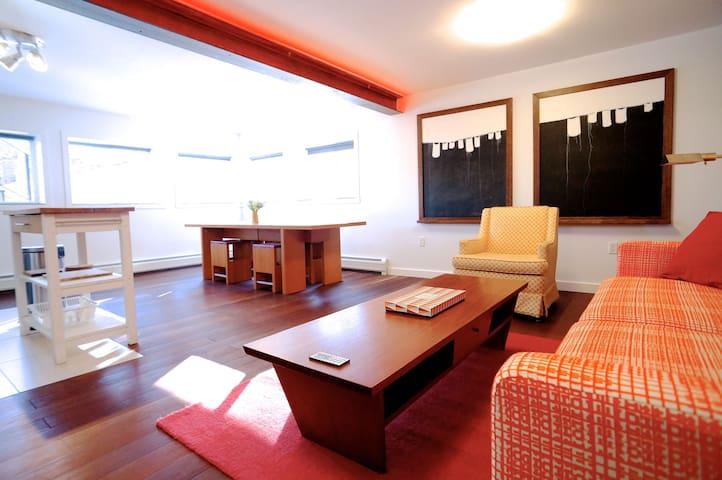 Designer flat, amazing setting. - Rosendale - Maison