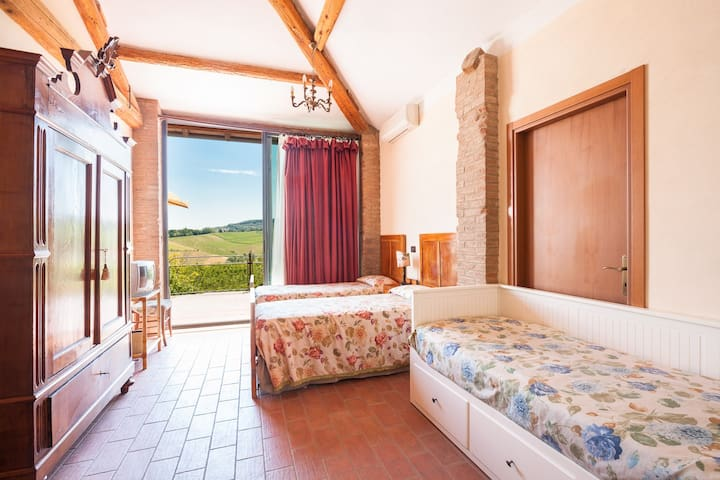 CAMERA X 4 CON VISTA  - Savignano Sul Panaro - Bed & Breakfast
