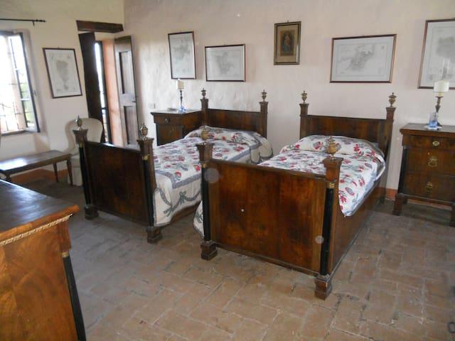 CAMERA IMPERO PER 2 PERSONE - Bornato - Bed & Breakfast