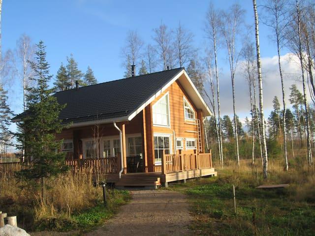 коттедж Saimaa Lakeside на берегу - Ruokolahti - Huis