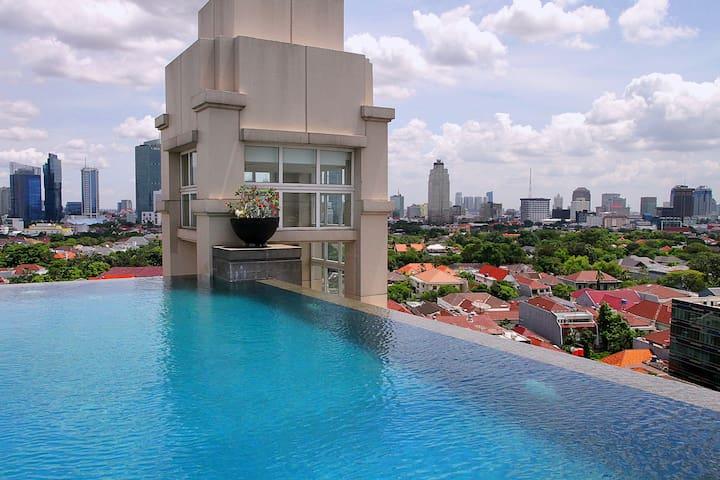 Perfect 50 m2, 1 bdrm apartment - Menteng, Jakarta, Indonesia - Leilighet