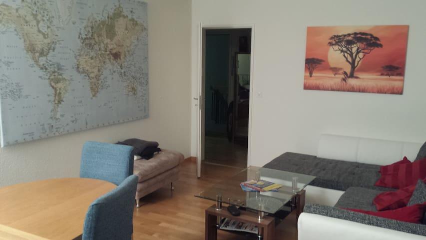 Gemütliches Zimmer 30min von Zürich - Zufikon - Apartamento