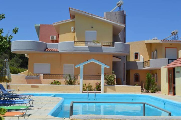 apartment for 4-Ialyssos! - Trianta - Huoneisto