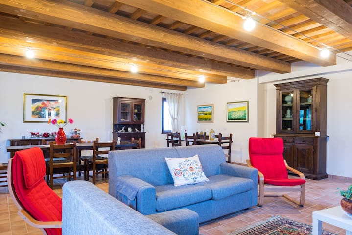 Beautiful cottage in the hills - Macerata - Casa