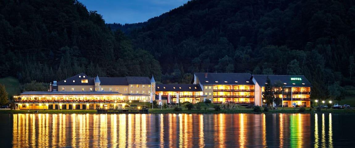 Hotel Donauschlinge - Schlögen - Oda + Kahvaltı