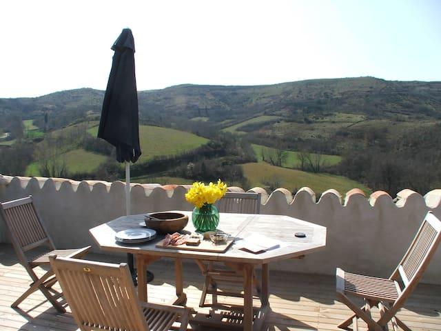 Village House 8 guests Garden Pool - Laurac - Casa