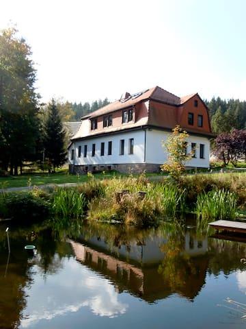 Ferienhaus Ratsmühle Thür. Wald - Möhrenbach - Huis