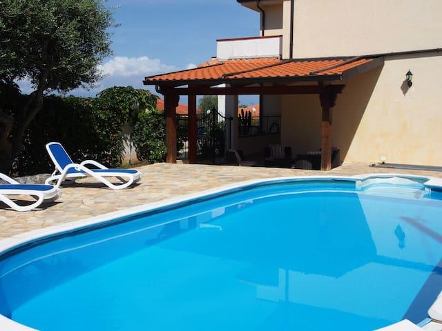 Villa with private pool & sea view  - Zambrone  - 別荘