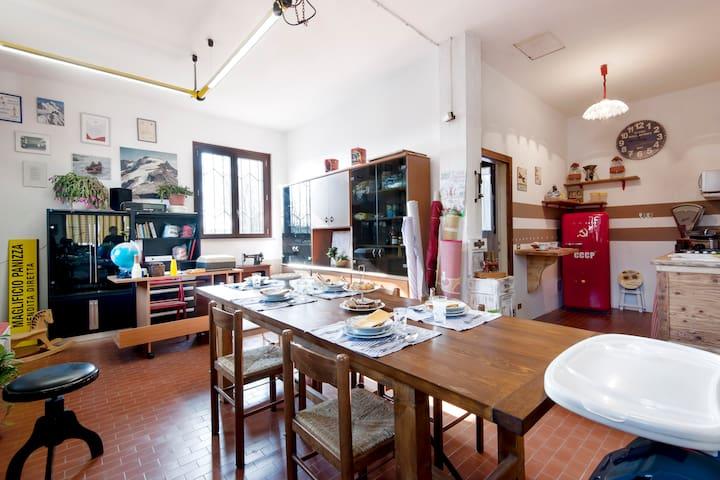 Knitwear factory vintage - Cattanea-casoni dei Peri - Loteng Studio