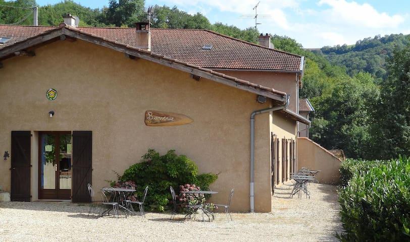 """Maison d'hôtes """"Les gouttes"""" - Courzieu"""