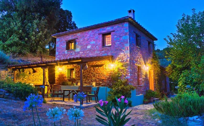 Romantic cottage - Platania Pelion  - Magnesia Prefecture - Huis
