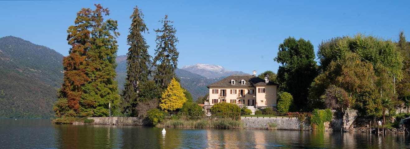 'La Bira'  Villa d'epoca sul lago - Pettenasco - 別荘