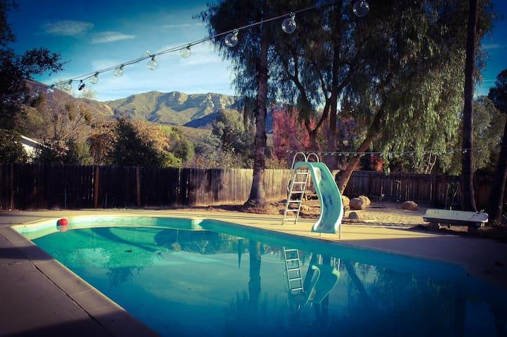 Ojai Quiet Life at Rancho Vortice - Ojai - Rumah