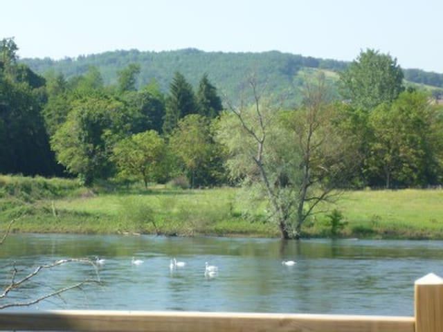Exceptional views of the Dordogne - Saint-Cyprien - Departamento