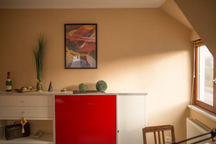 kleine Gartenstadt-Wohnung - Росток - Квартира