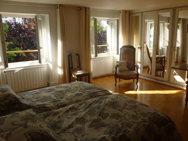 Une chambre de charme en Alsace - Reichshoffen - Oda + Kahvaltı