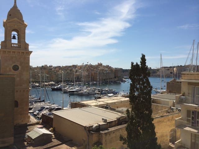 Room in the heart of the 3 Cities  - Il-Birgu - Daire