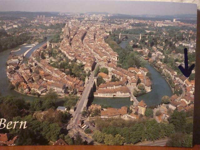 Prime location in Bern by the river - Bern - Apartamento