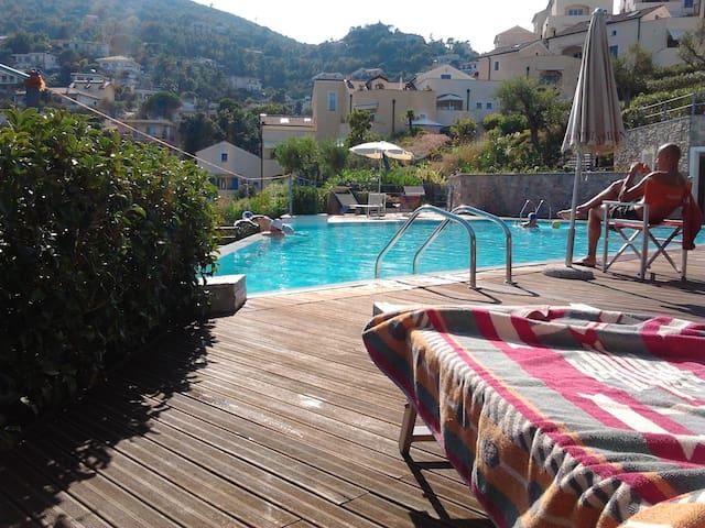 a villa on the sea in liguria - Spotorno - 別墅