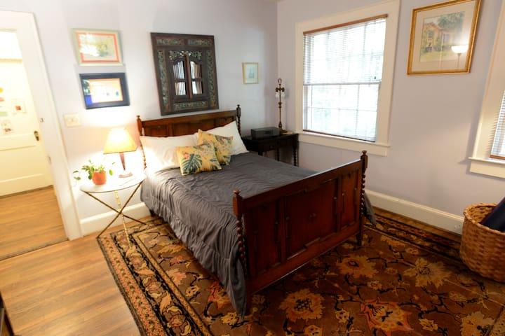 Guest room, funky Decatur/Oakhurst - Decatur - Casa