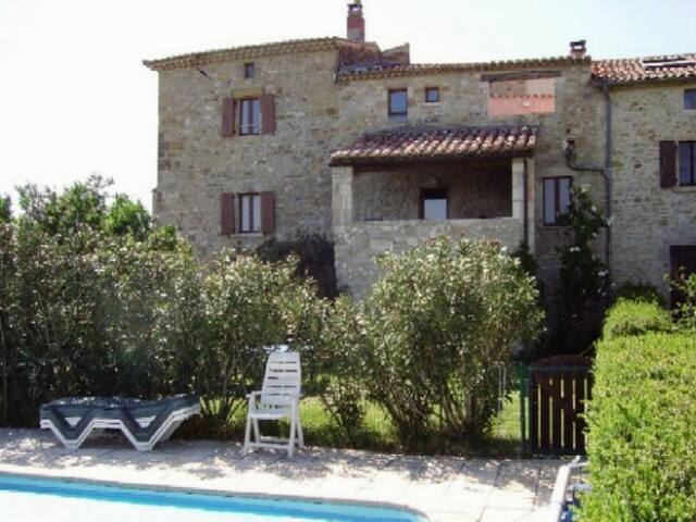 Studio voûté, Sud Ardèche, piscine - Bessas - Departamento
