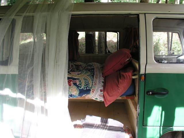 Romantic Camping hidden in the woods in Italy - Mondaino - Trailer