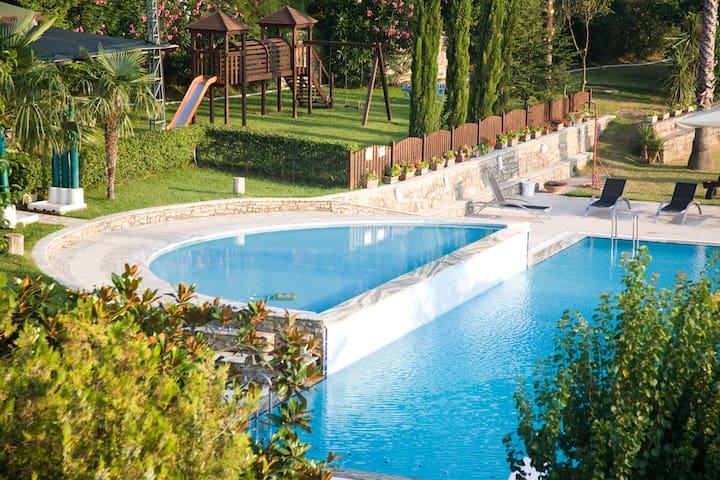 ResidenzaGiancesare piscina parco   - Capaccio - Leilighet
