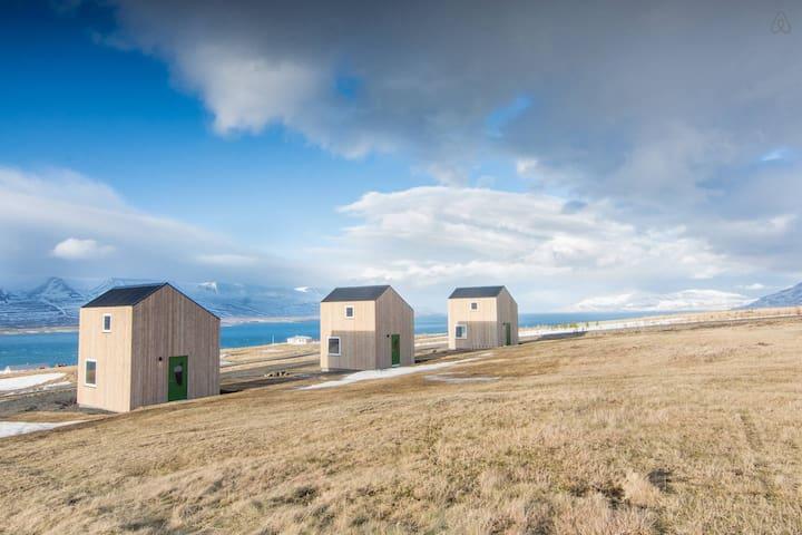 New small houses - great view! nr 3 - Akureyri - Hus