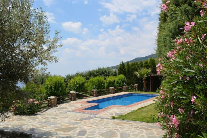 villa lujo con piscina privada  - Alpujarra Granadina - Villa