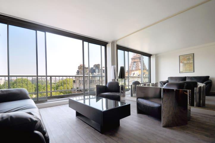 EIFFEL TOWER APT, STUNNING VIEW - Paris - Lägenhet