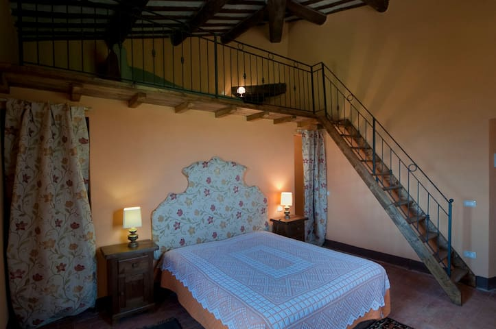 very panoramic room-B&b il Povile - Graffignano - Vila