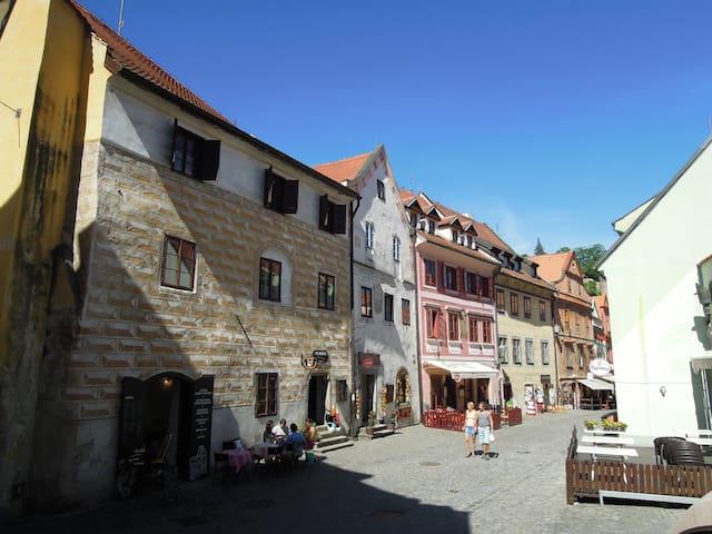 Historické centrum Českého Krumlova - Český Krumlov - Hus