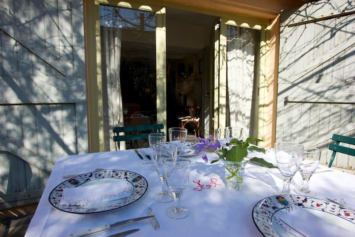 Maison de village avec jardin - Maillane - 一軒家