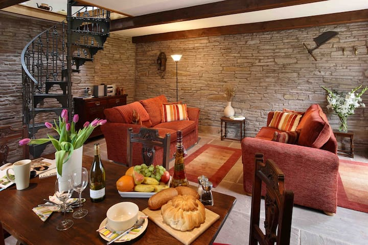 Holt Stable - a hideaway for two. - near Hay-on-Wye - Haus