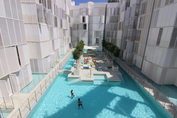 2 bedroom flat in Ibiza, Botafoch - Botafoch, Ibiza - Appartement