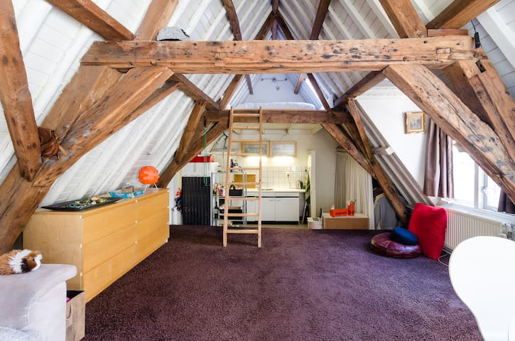 Caracteristic Loft in center - Utrecht - Loft