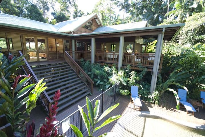 Janbal rainforest retreat - Whyanbeel - Casa