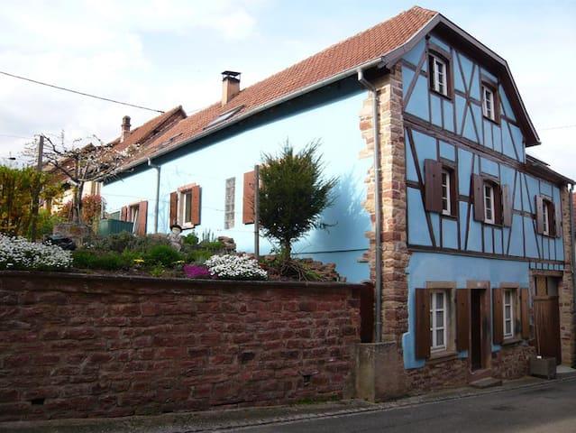 Gîte 8 à 11 pers proximité Obernai - Ottrott - Casa