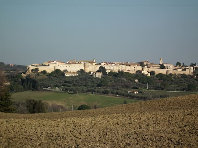 Tuscan get-away, panoramic views - Magliano In Toscana - Appartement