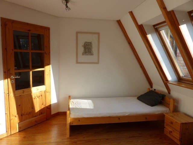 ruhige Einliegerwohnung am Waldrand - Quickborn - Apartemen