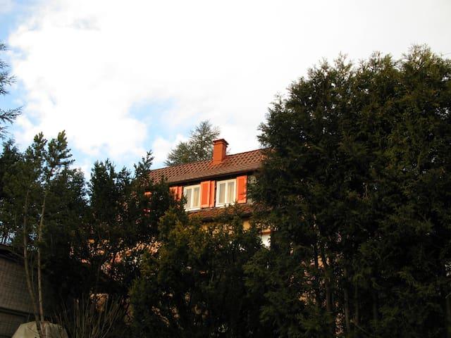 Gästehaus Nico am Fuße des Ersbergs - Nürtingen - Leilighet
