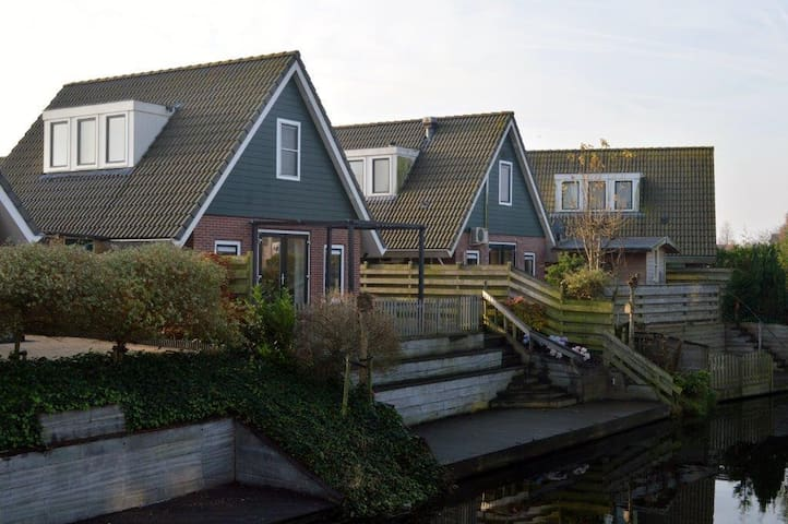 Holiday Home IJsselmeer Medemblik - Opperdoes - Rumah