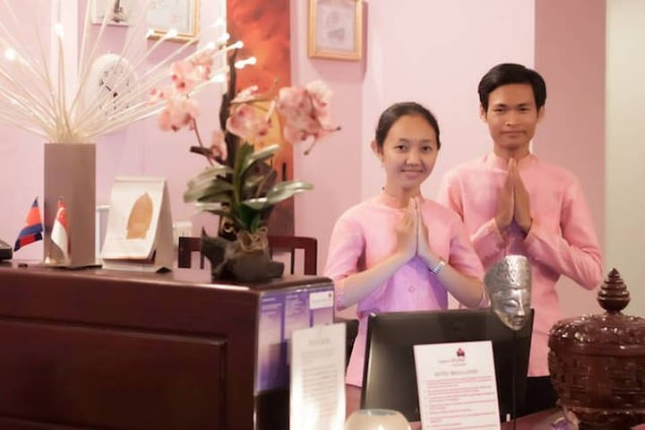 Angkor Orchid Central- Best Rate! - Krong Siem Reap - Aamiaismajoitus