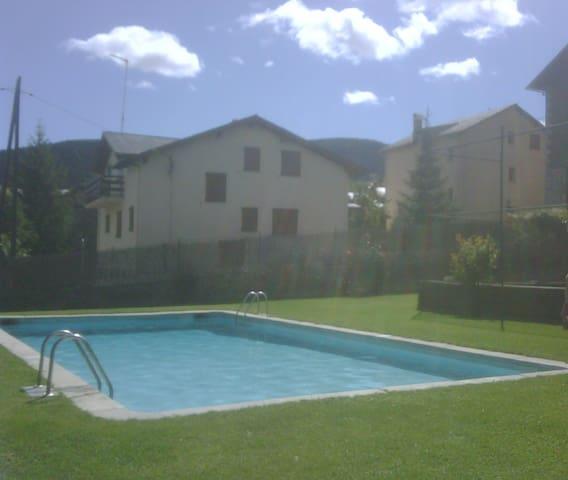 La Cerdanya Alp apartamento con piscina-HUTG:0197 - Alp - Apartament