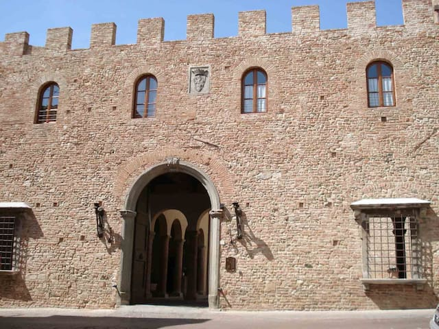 Abitazione Palazzo Stiozzi Ridolfi - チェルタルド - アパート