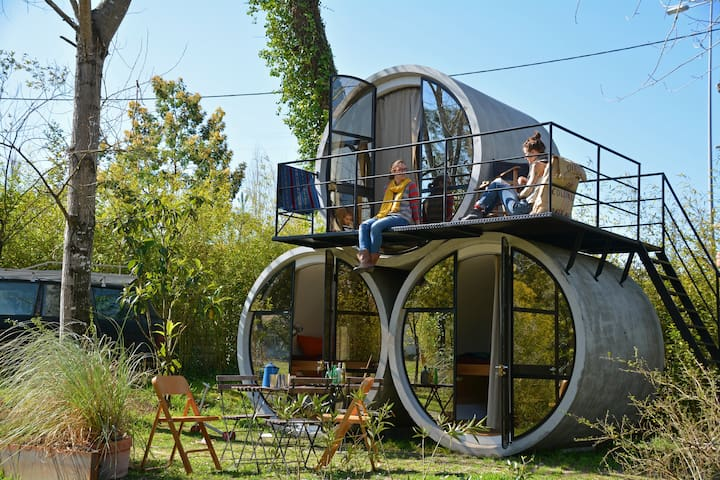 Sleep in the round-stay in a TUBE! - Louriçal - Overig