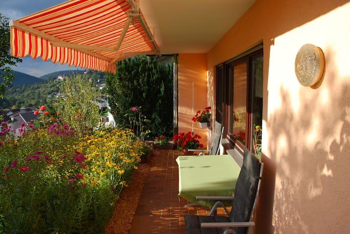 Abendsonne Ferienwohnung  - Neckargemünd - Lägenhet