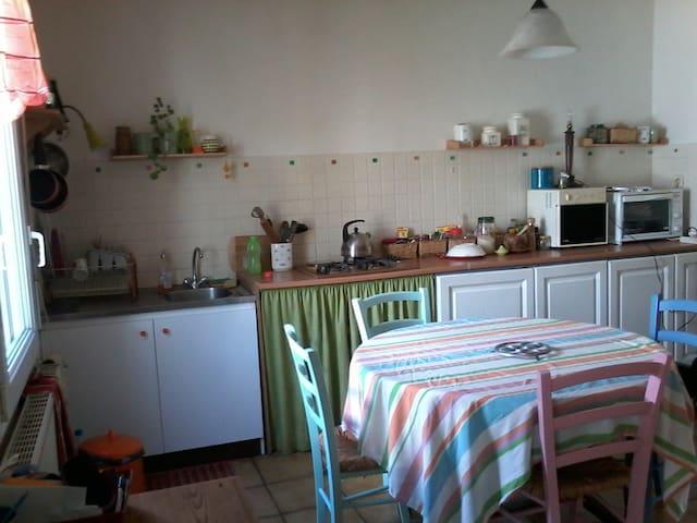 Petite maison chaleureuse. - Plourin-lès-Morlaix - Casa