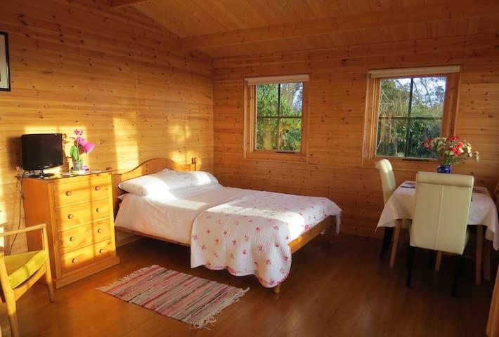 Cosy Pine Lodge, stunning sea views - 金斯布里奇(Kingsbridge) - 小木屋
