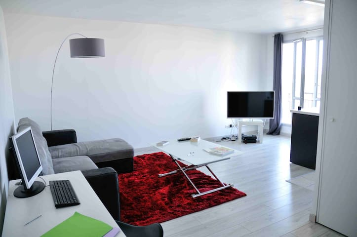 Appartement calme Centre Ville - Mantes-la-Jolie - Departamento